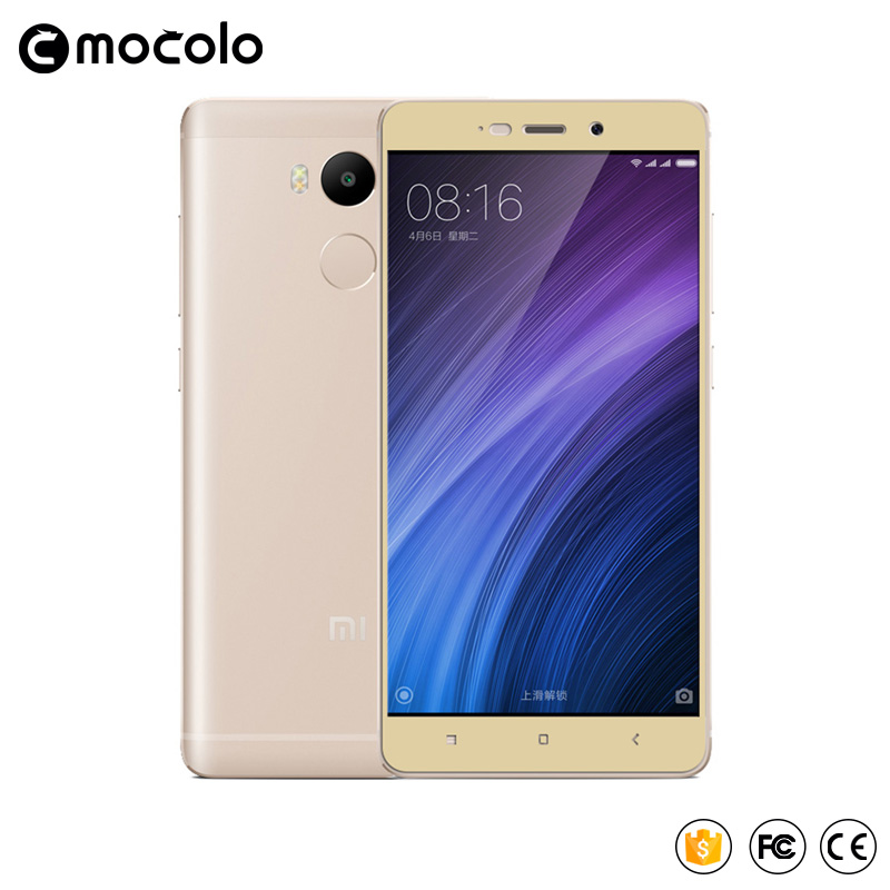 Mocolo xiaomi redmi 4 pro kaca tempered 2.5D penutup penuh kaca - Aksesori dan suku cadang ponsel - Foto 3