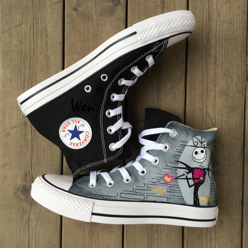 a70633b33d9 ⑤O Pesadelo Antes Do Natal Jack Skellington Converse All Star ...