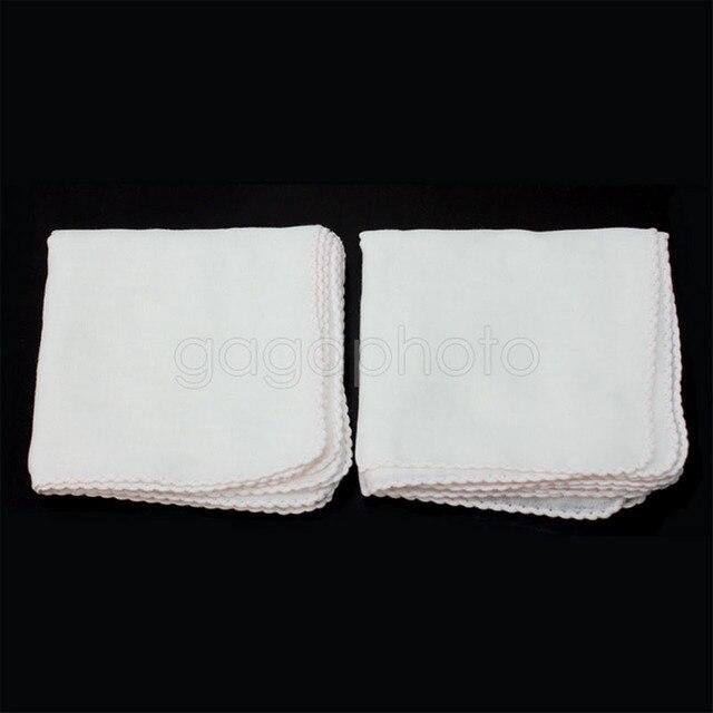 10 Pcs Tipo Quadrato di Cotone Rimuovere Il Trucco Esfoliante Massaggio Del Viso Mussola Panno Da Bagno Doccia Tovagliolo di Sport