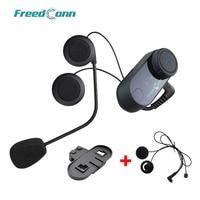 FreedConn T COMVB Original Interphone Bluetooth Motorcycle Motorbike Helmet Intercom Headset+Extra Soft Earpiece+Bracket