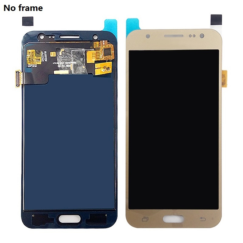 For Samsung Galaxy J5 2015 J500F J500F DS J500H DS J500FN J500M LCD Display Touch Screen Digitizer Sensor with Frame Home Button in Mobile Phone LCD Screens from Cellphones Telecommunications