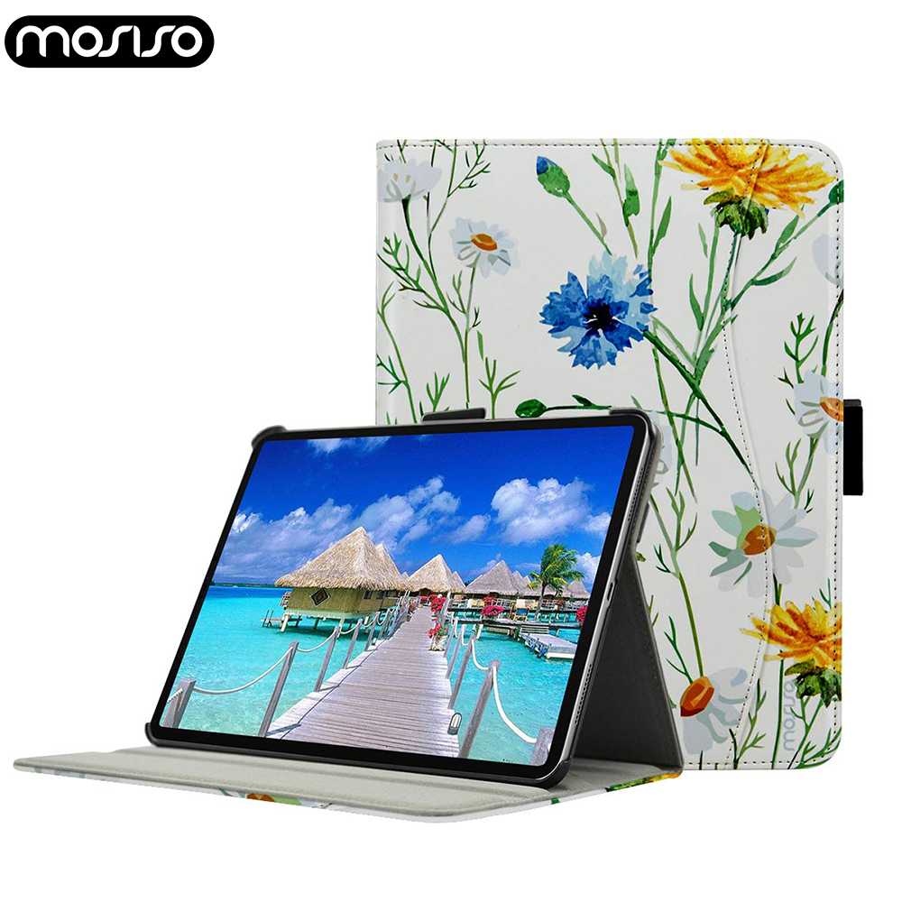 MOSISO Smart Funda for Apple iPad Pro 11 12.9 inch Case 2018 Slim Trifold Stand PU Tablet Soft Cover for iPad 11 12.9 inch CaseMOSISO Smart Funda for Apple iPad Pro 11 12.9 inch Case 2018 Slim Trifold Stand PU Tablet Soft Cover for iPad 11 12.9 inch Case