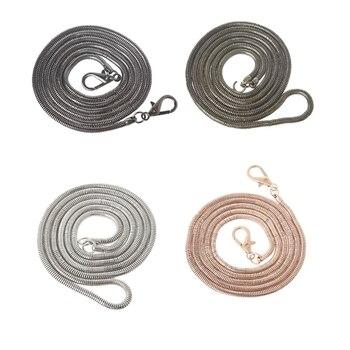 120cm Cross Body Handbag Shoulder Bag Chain Strap Replacement Bag Accessories hasp cross body handbag