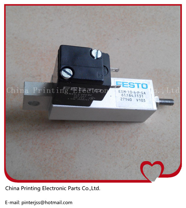 1 piece high quality cylinder valve 61.184.1131 for heidelberg SM 74