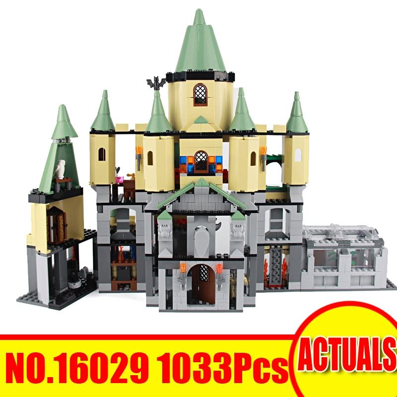 Lepin 16029 1033Pcs Movie Magic Hogwarts Castle Set Compatible Legoing 5378 Model Building Kits Blocks Bricks Toys For Children