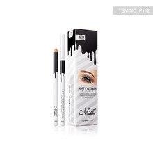 12pcs/set MENOW Makeup Silky Wood Cosmetic White Eyeliner Pencil Silkworm Highlight Pen Waterproof P112