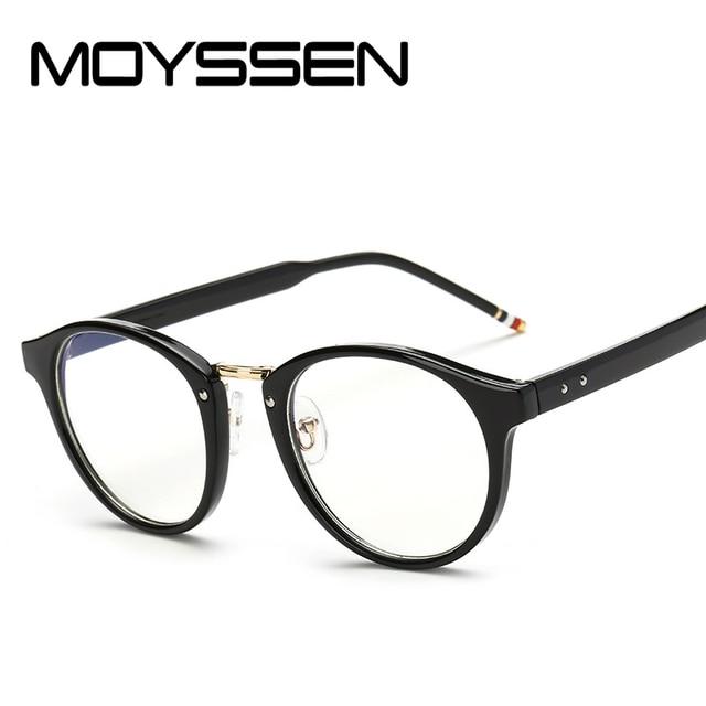 d5fab088b489 MOYSSEN Men Brand Designer Style Optical Prescription Glasses Frame  Anti-fatigue Women Spectacle Vintage Decorative Eyeglasses