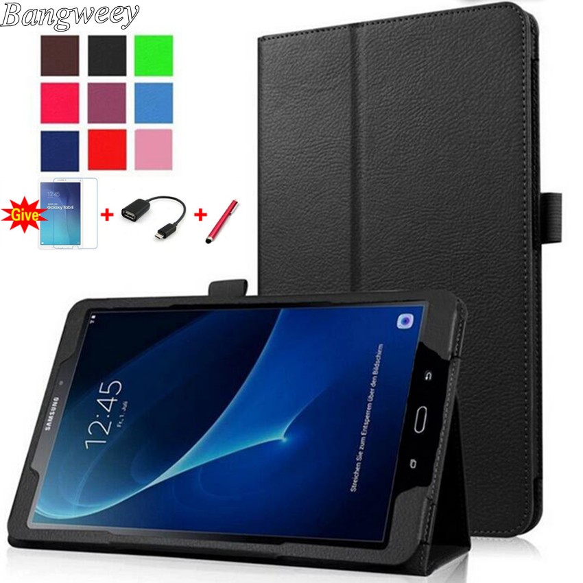 for samsung galaxy tab a a6 10 1 p580 p585 not t580 flip cover funda cases smart cover shell. Black Bedroom Furniture Sets. Home Design Ideas
