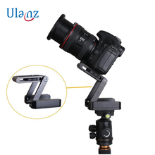 Z Type Foldable Desktop Stand Holder Tripod ,Tilt with Ball Head Compatible Slide Rail Camera Camcorder Tripod for Canon Nikon