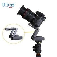 Z Type Opvouwbare Desktop Stand Houder Statief, Tilt met Balhoofd Compatibel Slide Rail Camera Camcorder Statief voor Canon Nikon
