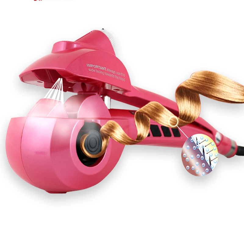 New Upgrade Spray LCD Pro Hair Curler Styler Heating Hair Styling Tools Automatic Hair Curl Magic Hair Curlers Wand EU US Plug lemochic hot sale women salsa cha cha double steps latin tango pole dancing performance arena classical professional dance shoes