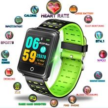 купить LIGE Fashion Smart Bracelet 1.44 Inch 248*248 IP67 Waterproof Heart Rate Monitoring Blood Pressure For Men Women Sport Watch+Box дешево