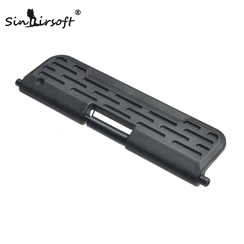 Tactifans AR Enhanced Polymer Ultimate Dust Cover .223-Capsule For GBB Airsoft AR-15/M16/M4 Standard  Black