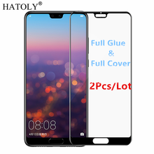 2Pcs Huawei P20 Glass Tempered Glass for Huawei P20 Film 9H HD Full Glue Full Cover Screen Protector for Huawei P20 все цены