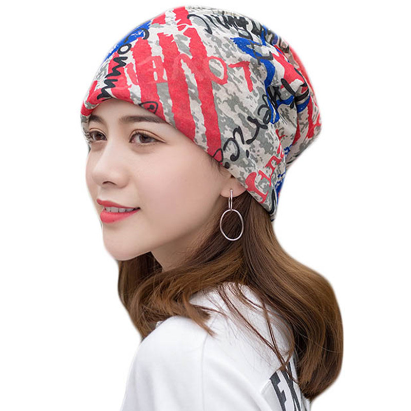 Summer Multifunctional Headscarf Unisex Men Women   Skullies     Beanies   Hedging Cap Knitted Cotton Caps Bonnet Female Casual Hat