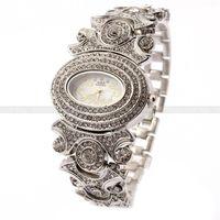 GLE & VDO Casual Bangle Armband vrouwen Horloge Casual Quartz Horloges Crystal Party Horloge Gift Box Gratis Ship