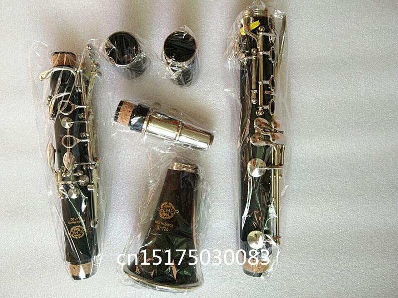 France Salma clarinette instrument de musique véritable baisse b bakélite noir tube débutant condition professionnel jouant grade