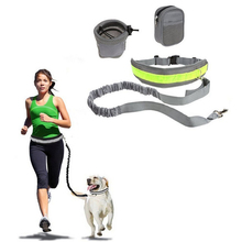 New Pet Dog Handsfree Leash Leads Collars Sets Adjustable Harness Running Jogging For Dogs Puppy Supplies
