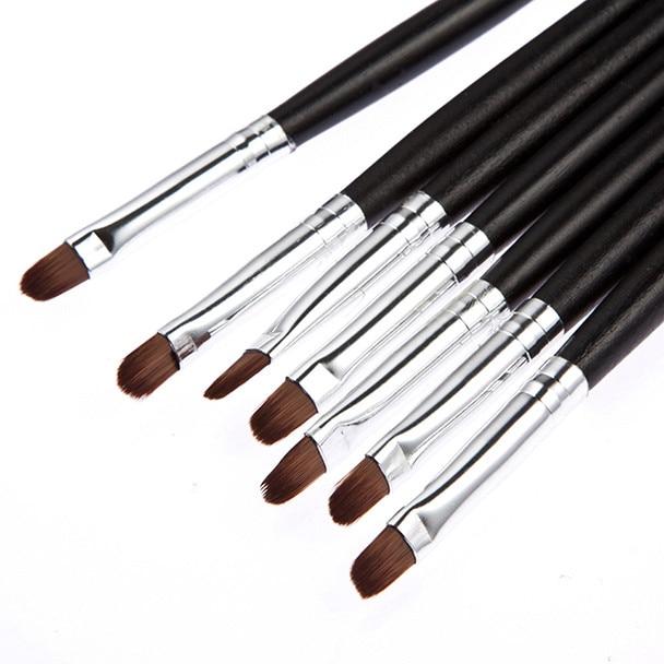 1PC Portable Lip Brush Black Bar Lip Brush Cosmetic Colorful For Make Up Tools