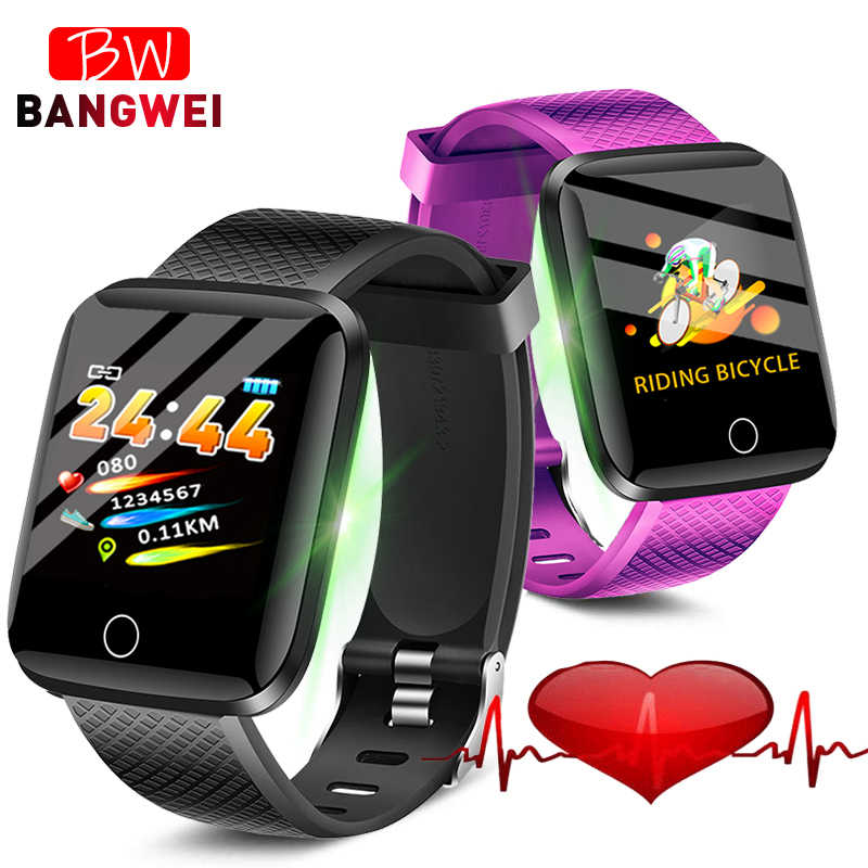 LIGE New Fitness Smart Watch Men Women Blood Pressure Heart Rate Monitor Bluetooth Activity tracker Pedometer Smart bracelet