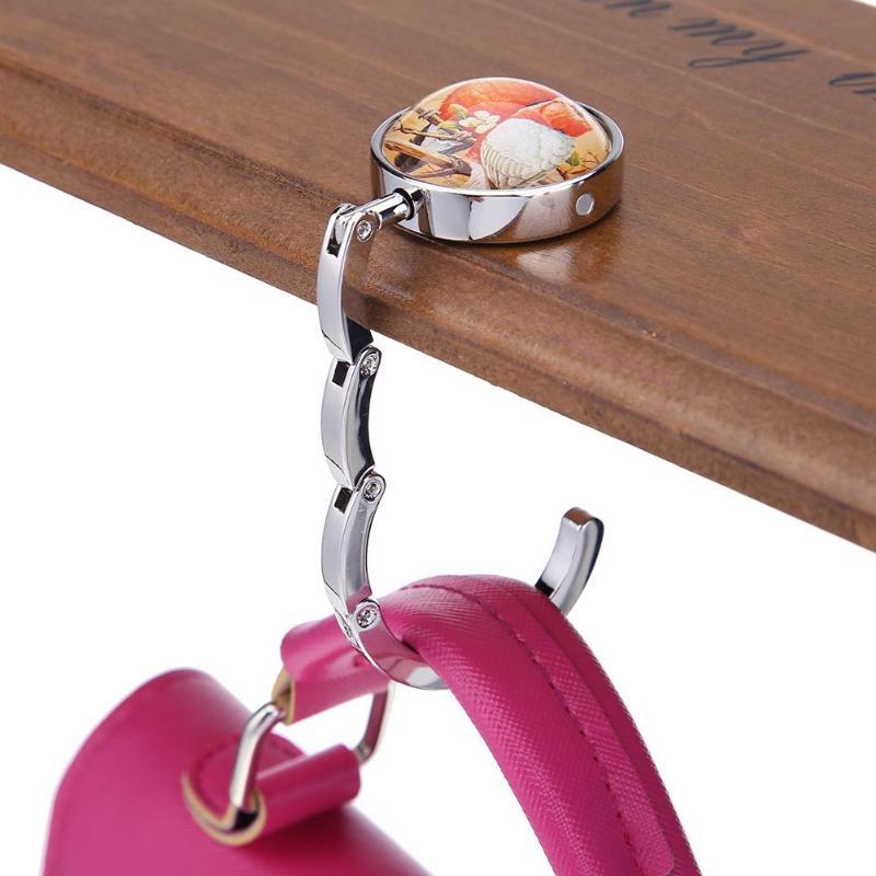 Handbag Table Hook Hanger I Love Turkeys
