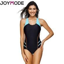 0c2aeab225b4d JOYMODE 2017 Sports Style Bikini Women One Pieces Striped Backless Swimwear  Push Up Swimsuits Plus Size