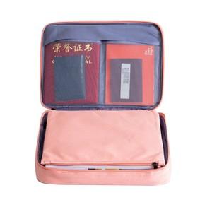 Image 3 - وثائق التفويض حقيبة التخزين حقائب نيلون ل بطاقات شهادات الوثائق المحمولة للماء الوثائق للأعمال السفر