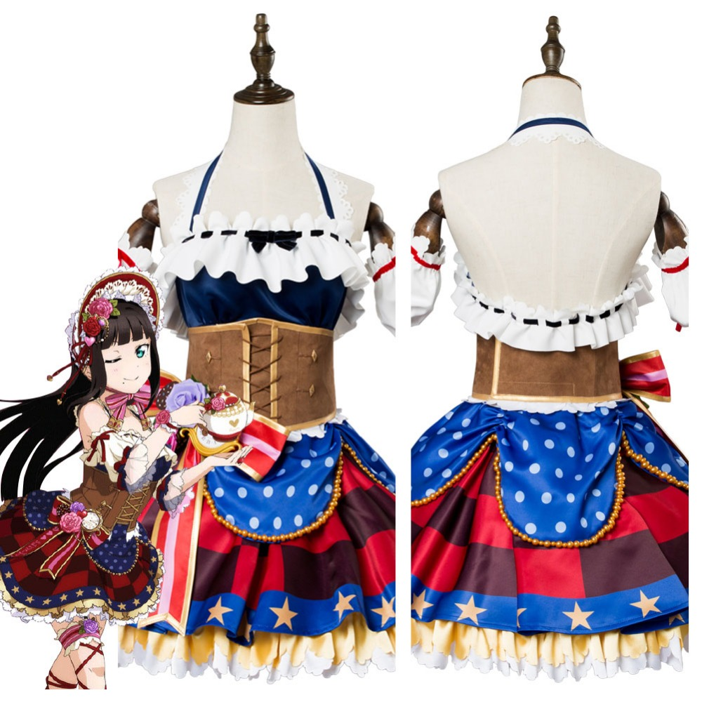 Love Live Sunshine Dia Kurosawa Cosplay Costume Lovelive Chocolate Valentine's Day Dress Cosplay Costume