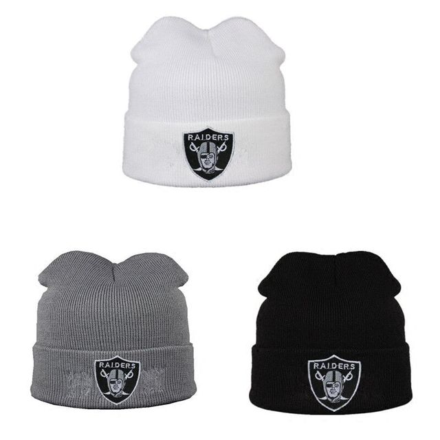 Raiders Embroidery wool Winter hat beanies for Men knitted Skullies cap  gorros winter hats for men bonnet enfant Winter caps 498a56de751