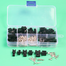 25 sets kit sm 2.54mm automotive electrical wire connectors for car in
