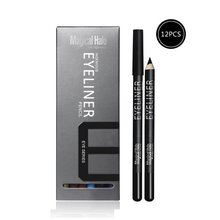 12 Colors Makeup Eye Shadow Pencil Lip Liner Set Waterproof Gel Eyeliner Pencil Make Up Eye Liner Crayon Cosmetics Penxgrj
