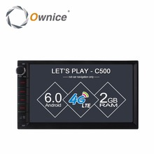 Ownice C500 1024*600 Android Radio 2 din universal car radio Multimedia Video Player GPS Navigation 4G LTE Network DAB+ TPMS DVR