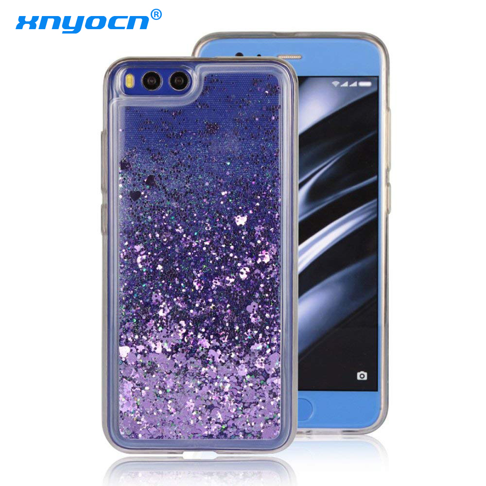 Silicone Phone cases sFor Fundas <font><b>Xiaomi</b></font> Mi5 case For <font><b>Xiaomi</b></font> <font><b>MI</b></font> 5 5X 5S <font><b>Mi</b></font> 6 Mi6 Liquid Glitter Quicksand Soft TPU case <font><b>cover</b></font> image