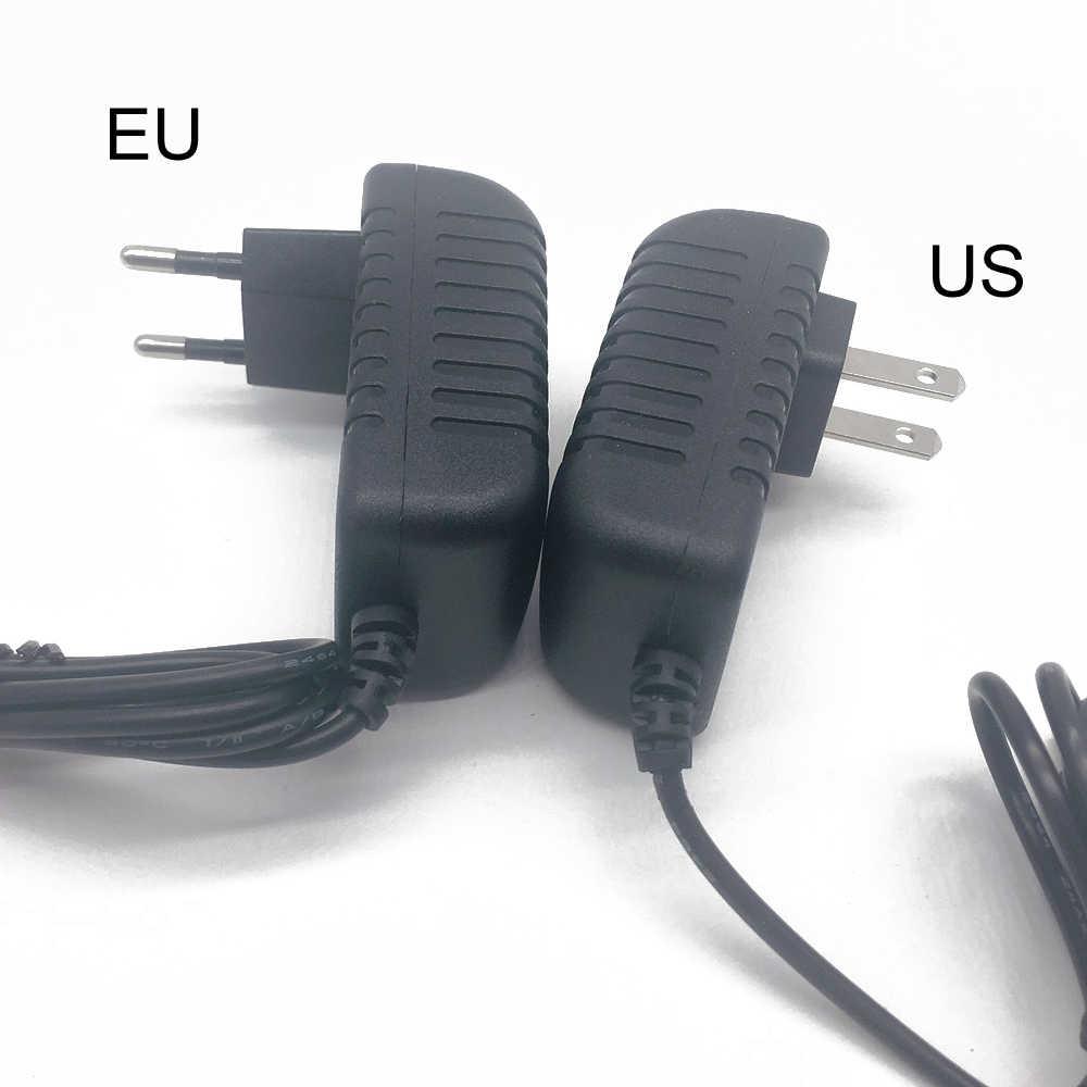Adaptador de Controlador LED de 12 voltios y 12 V CA 110V 220V a CC 1A 2A 3A transformador cargador Convertidor para tira de luces LED