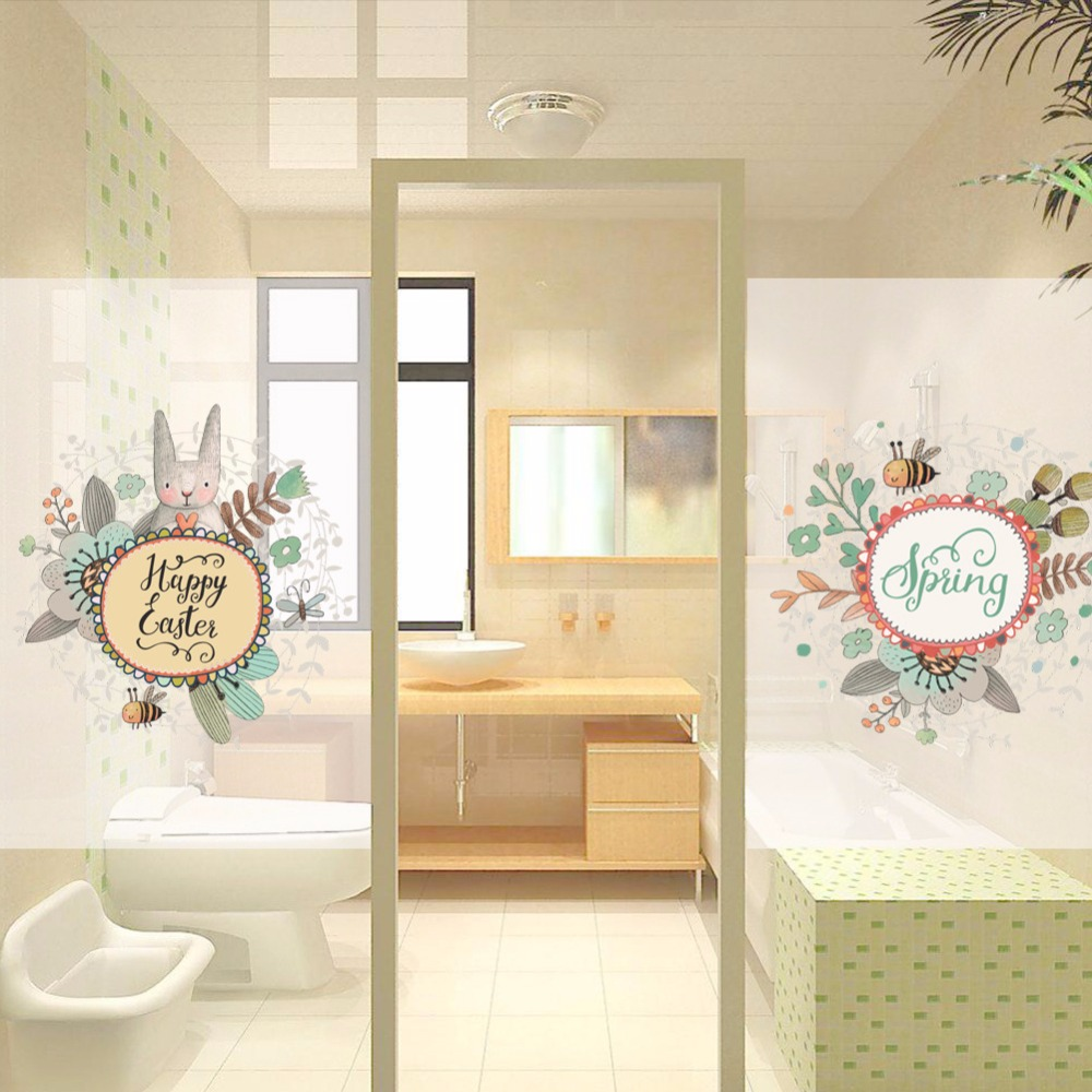 Bee And Bear Wall Sticker Cartoon Wallpaper For Baby