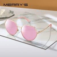 MERRYS DESIGN Women Fashion Trending Sunglasses Ladies Luxury Polarized Sun glasses UV400 Protection S6296 Women's Glasses