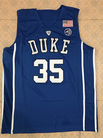 35 Marvin Bagley III Duke Blue Devils Retro Throwback Stitched Embroidery Basketball Jerseys Customize Any