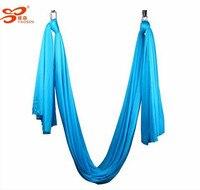 9 Colors 5m Full Yoga Hammock Nylon Flying Aerial Yoga Hammock Swing Fabric Yoga Belt For