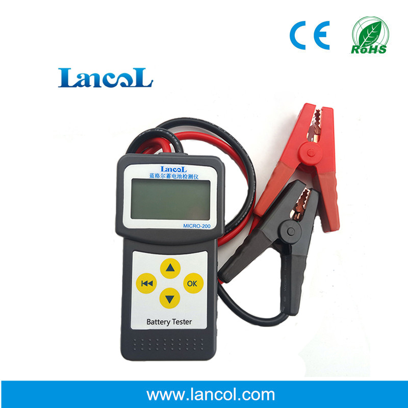 Lancol Micro200 Professional 2000 CCA 200AH Analyzing Bad Cell Diagnostic Tool Digital 12V Car Battery Load Tester Automotive