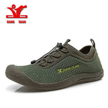 XIANG GUAN New Outdoor Breathable Quick-Drying Hiking Shoes Men Summer Outdoor Trekking Shoes Men Walking Fishing Shoes 33009 - SALE ITEM Sports & Entertainment