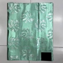 Mint Tiffany African Sego Gele Headtie Head Tie,2 pcs Set Nigeria Wedding Headwear LXL-34-5