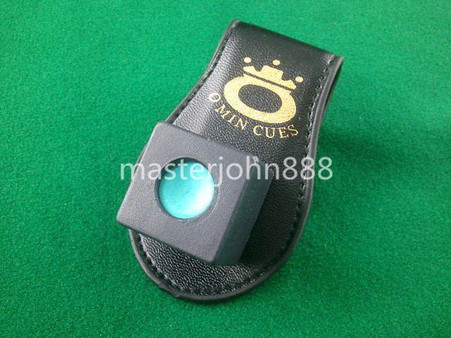Pool Billiards Snooker Accessories Leather Magneti...
