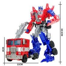 18.5cm Big Classic Transformation Plastic Robot Cars