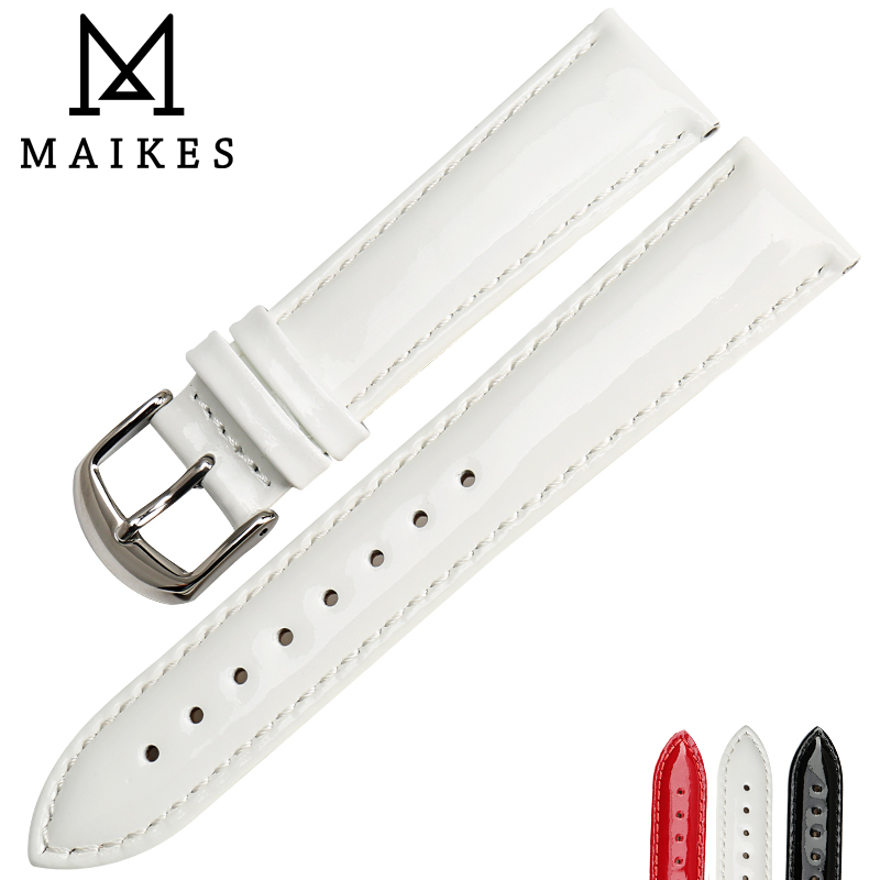 MAIKES 정품 가죽 시계 밴드 12 미리 메터 14 미리 메터 - 시계 액세서리 - 사진 6
