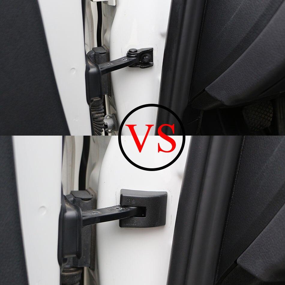 4шт/набор автомобиля Водонепроницаемый ржавчины-доказательство наклейка двери ограничения пробка Крышка для BMW f30 с Ф35 Ф80 Е46 Е92 E91 e93 Автомобильные аксессуары