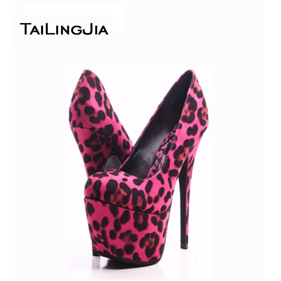 Popular Leopard High Heels-Buy Cheap Leopard High Heels lots from ...