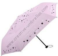 Free shipping,6k fiberglass bag umbrellas,three fold umbrellas,hand open,windproof,UV protecting,supermini,pocket umbrellas