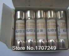 Frete Grátis 10 Pcs New originais KLKD30 Littelfuse Dos Estados Unidos KLKD 30 10*38 MM fusível Rápido KLKD fuse 30A 600 V Cerâmica fusível
