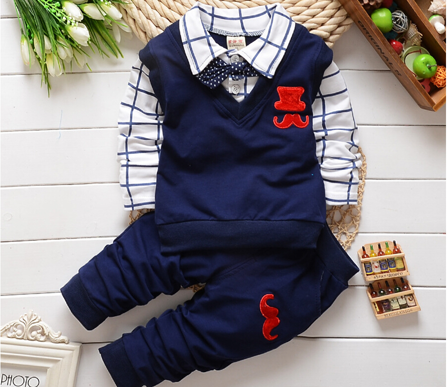 mix Exclamation point carbon  BibiCola spring autumn Baby Boy Clothes Set Children Clothing Sets Products Kids  Clothes Baby Boys T-shirts+Pants 2PCS Tracksuit – BAZZZOR MALAYSIA