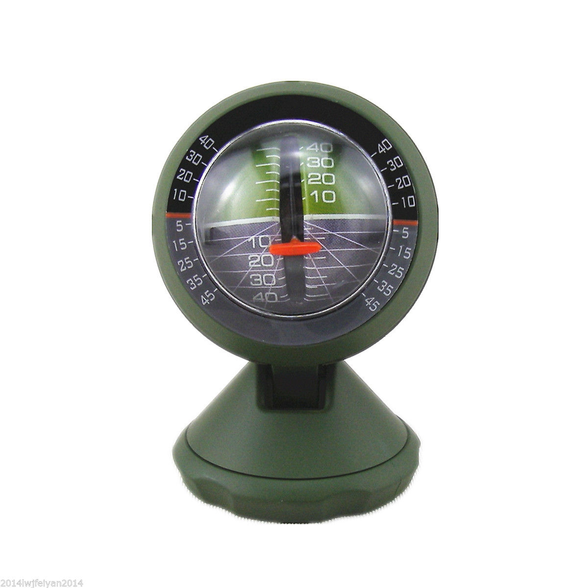 Car SUV Camp Inclinometer Slope Tilt Indicator Level Meter Slope Meter Gauge Protractor Vehicle Gradient Balancer